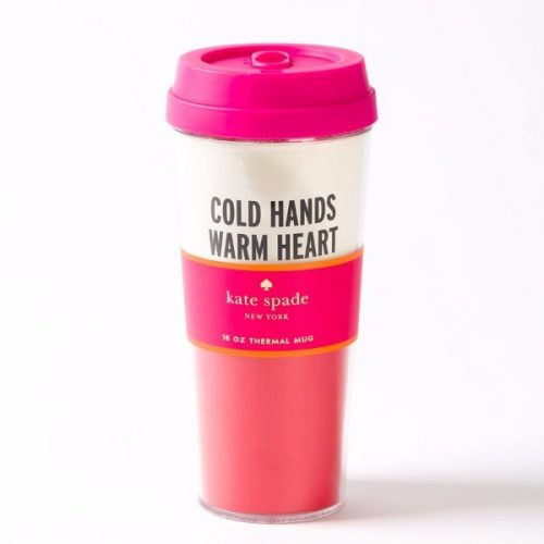 Cold Hands Thermal Travel Mug by Kate Spade