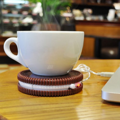 Hot Cookie – USB mug warmer – USB cup Warmer with Cookie Design by Mustrad