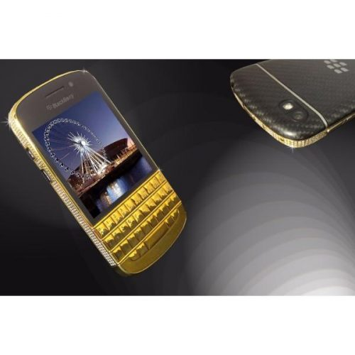 24ct Gold & S/Diamond BlackBerry Q10 Unique- Exclusive & Luxury