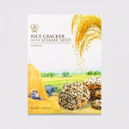 King Power Rice Cracker with Sesame Seed