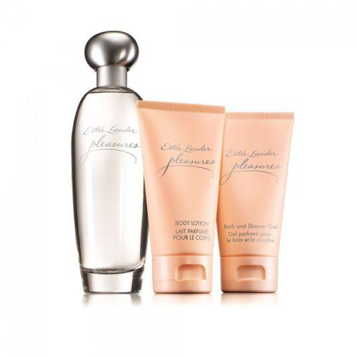 Estee Lauder Pleasures- Eau de Parfum  (3.4 oz/100 ml) Pleasure Luxury Collection gift set