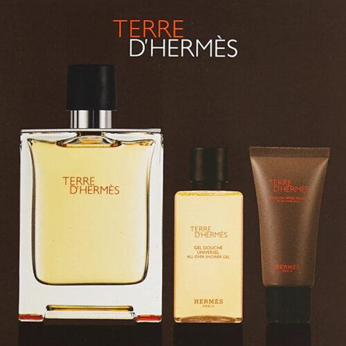 Terre D'Hermes set – Eau de Toilette, shower gel and aftershave 3.3 FL.OZ / 100 ML
