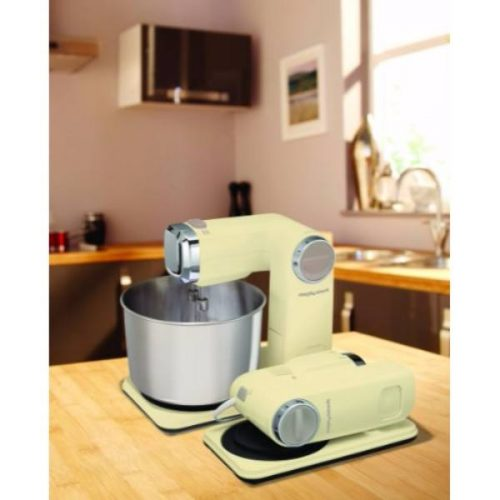 Morphy Richards 400403 Accents Folding Stand Mixer, 300 W – Cream