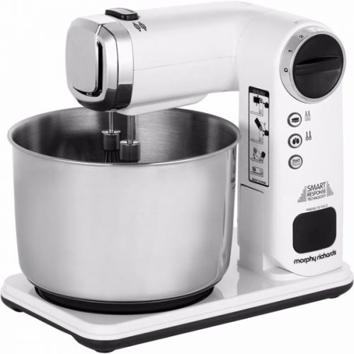 Morphy Richards Total Control White Folding Stand Mixer Model Number: 400405