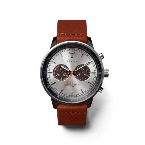 Triwa NEAC102-ST010212- Havana Nevil Brown, Brown Stitch Unisex Watch