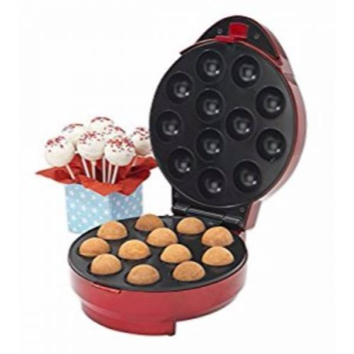 Giles & Posner EK1523 Electric 12 Hole Cake Pop Maker Bundle with Accessories and Tongs