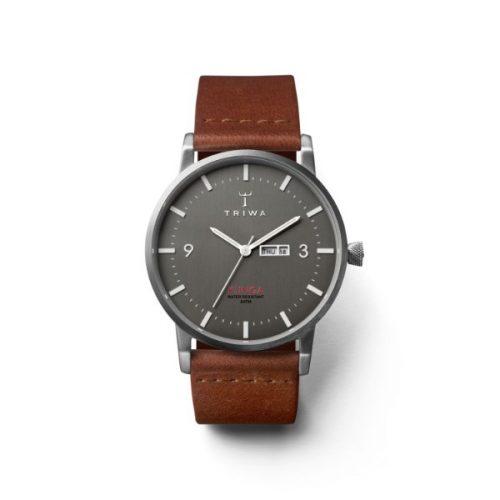 Triwa LCST106-BR021212 Ivory Lansen Chrono Unisex Watch Steel Brace