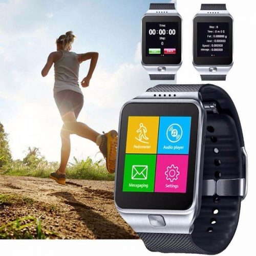 CNPGD All-in-1 Watch Cell Phone & Smart Watch Sync to Android IOS Smart Phone