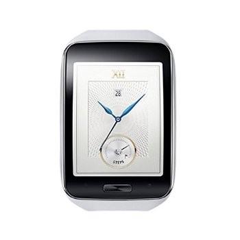 Samsung Galaxy Gear S R750W Smart Watch / Curved Super AMOLED Display – White