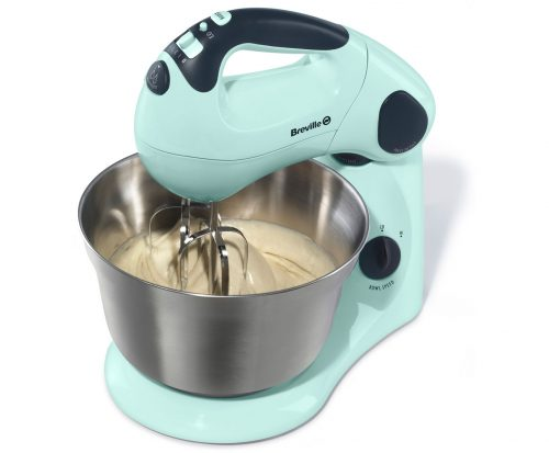 Breville VFP058/VFP061 – Pick & Mix Hand and Stand Food Mixer – Pistachio