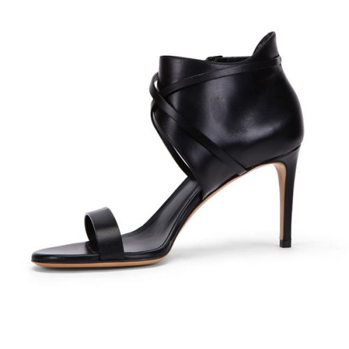 Casadei high heels sandals in black Leather, Mod. 8146P811.FH6SWEE000