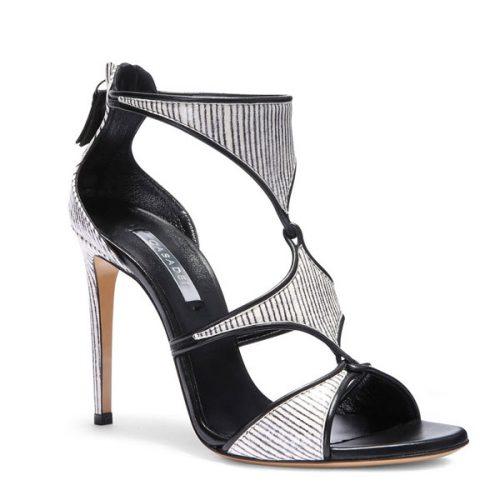 Casadei high heels sandals in zebra print Leather, Mod. 8148N123.FH8T500C27