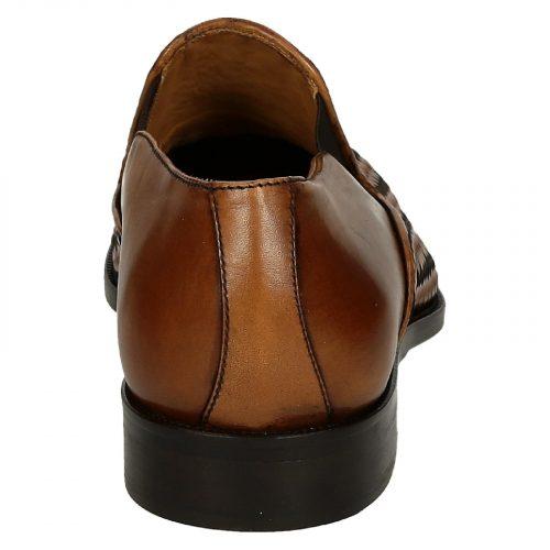Leonardo Shoes – FORMA 40 METISSE 2 CUOIO, Mod. 07116