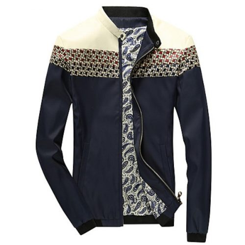 The new spring and summer jacket men fight color suit men's thin British fashion youth size coat tide #05147724