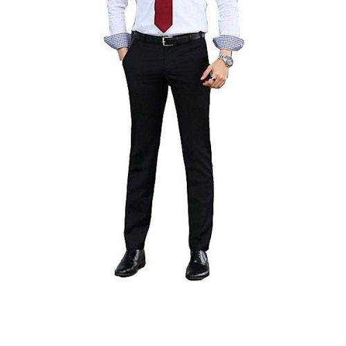 Men's Casual Pure Suits Pants (Cotton Blends) #03043241