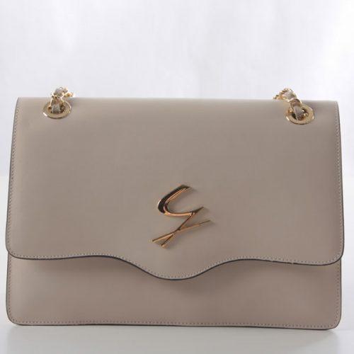 Falp Shoulder Handbag with chain by Gattinoni