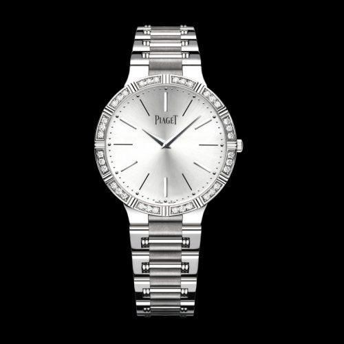 Piaget Dancer 18Kt White Gold Round 28MM Quartz Women's Watch G0A38046