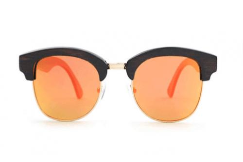 Bamboo Sunglasses Pistachio  for men