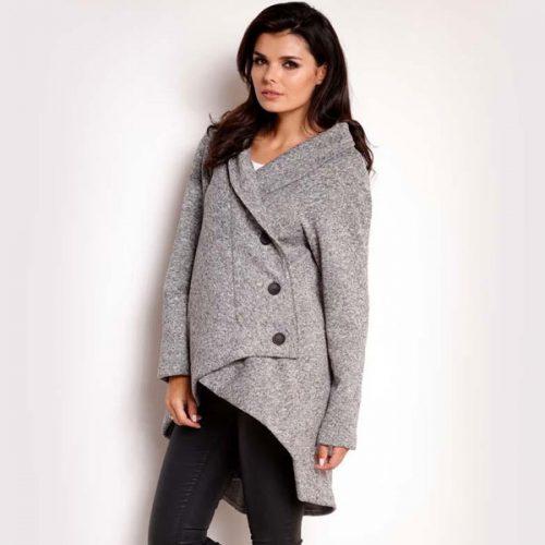 Asymmetrical Fall Coat