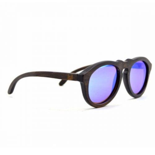 Bamboo Sunglasses Pilot Sapphire for men
