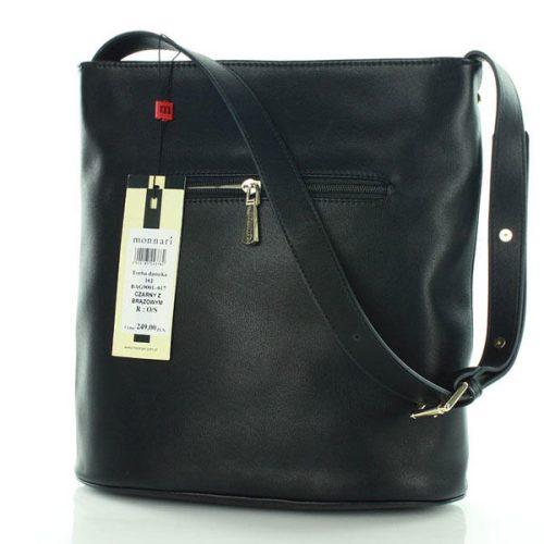 Brown&Black Long Strap Bag