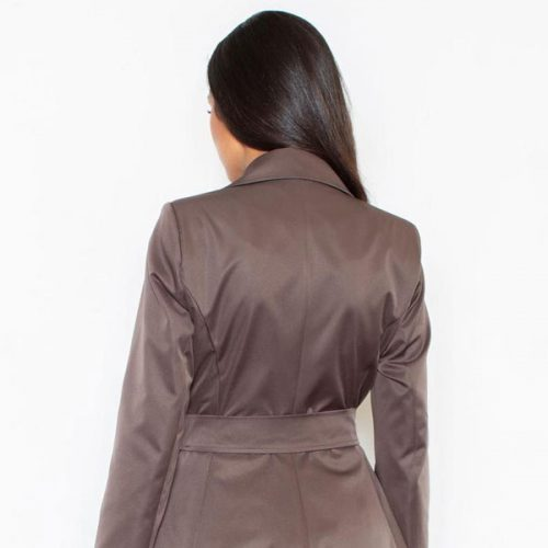 Women Double breasted Elegant Trench Coat