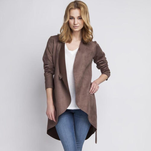 Thin Suede Stylish Jacket