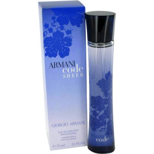 Armani Code For Women Edp Spray 75ml/ 2.5 oz for women