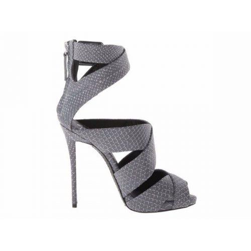 Giuseppe Zanotti high heels sandals in Denim Leather – Mod. E50160001