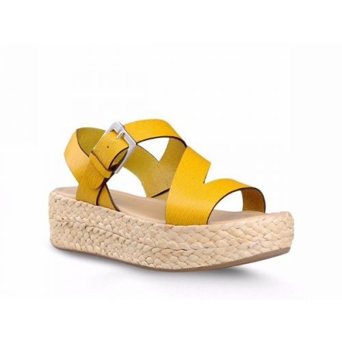 Sergio Rossi wedges sandals in brick Suede leather Mod. A60440MMVS3547172