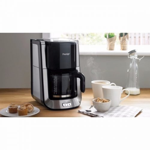 Prestige Coffee Maker, Brushed Stainless Steel