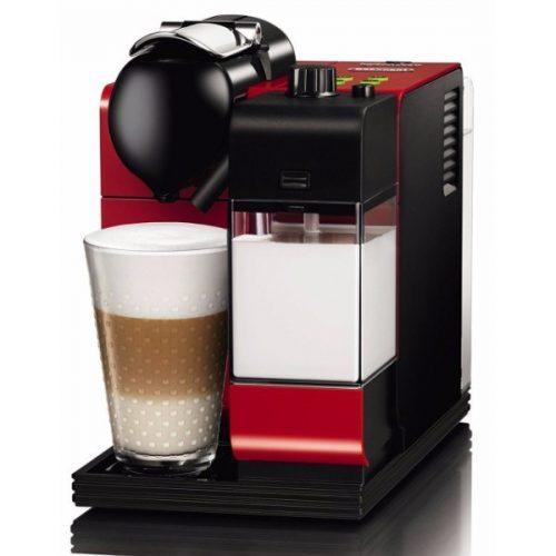 Delonghi EN521.R Nespresso Lattissima Plus Coffee Maker in Red