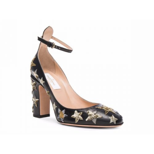 Valentino high heels pumps in black Leather – Mod. LW2S0104CJS 0NO