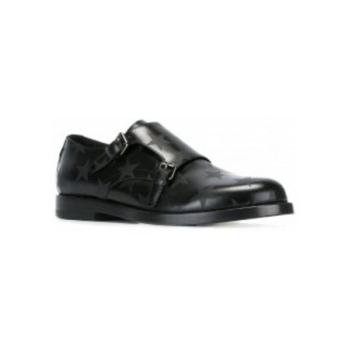 Valentino men's monk strap loafers in black Leather – LY2S0936VUZ