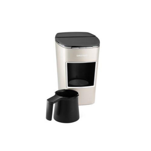 Grundig TCM 8720 C Cream Gold Automatic Turkish Coffee Machine