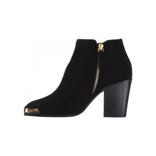 Giuseppe Zanotti heels ankle booties in black Leather