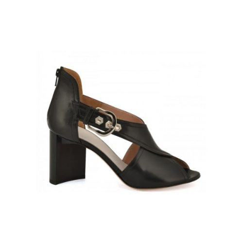 Maison Margiela high heel sandals in black Leather