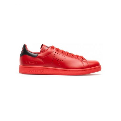 Stan Smith sneakers from Raf Simons in Red Leather
