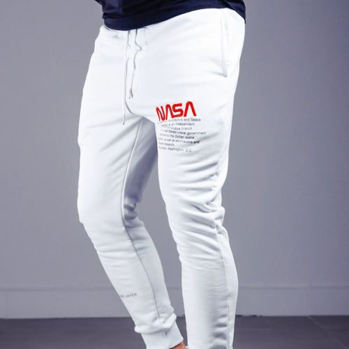 NASA EMBROIDERY SWEATPANTS ELASTIC ANKLE 4318