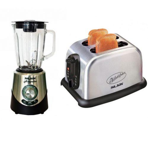 Palson 30564 Acapulco Jug blender & Philadelphia Toaster – 1 Set