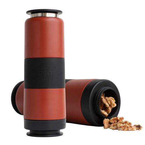 Dual Chamber Water Bottle – Clay