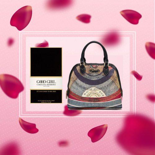 Good Girl 30ml EDP by Carolina Herrera With Gattinoni Planetarium Bugatti Bag