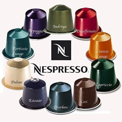 Nespresso Round and Balanced 10 Coffee Capsules
