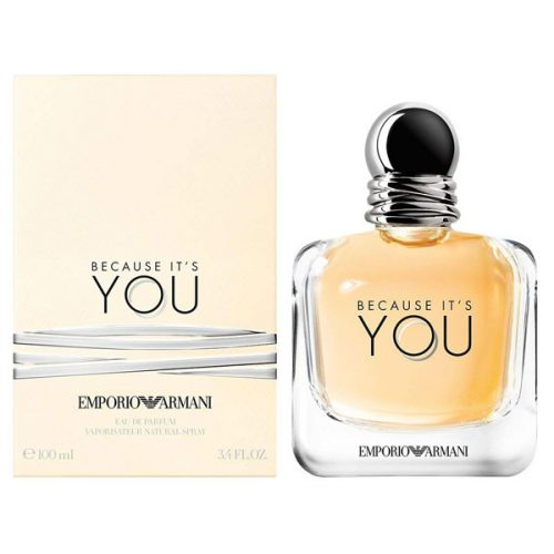 Because It's You by Emporio Armani 100ml / 3.4 oz Eau De Parfum Spray
