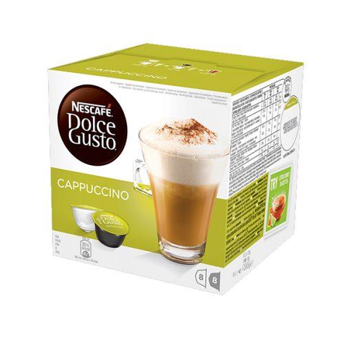 Nescafe Dolce Gusto Cappuccino Coffee Capsules