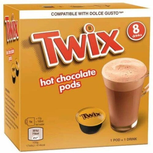 Twix Hot Chocolate Dolce Gusto Pods