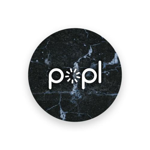 Popl Black Marble