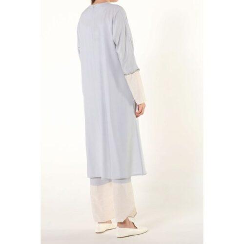 Women's Asymmetric Cut Tunic & Pants Set