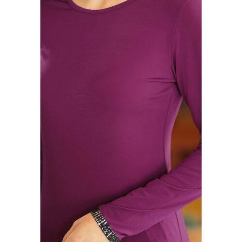 Women's Purple Tunic Pants Set