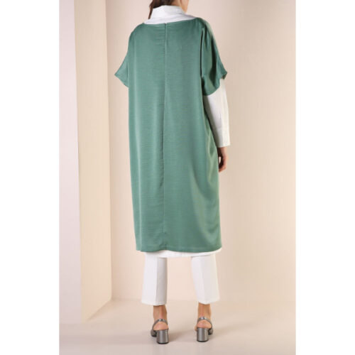 Women's green tunic Set